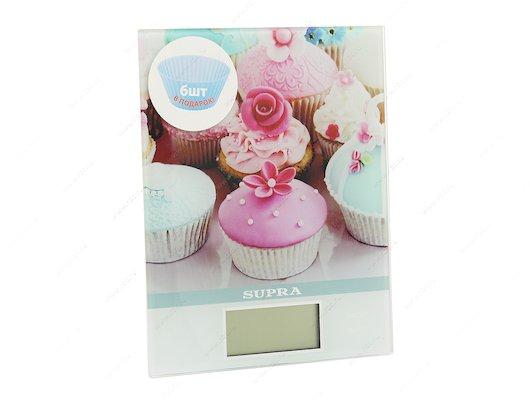 Весы кухонные SUPRA BSS-4097 pink
