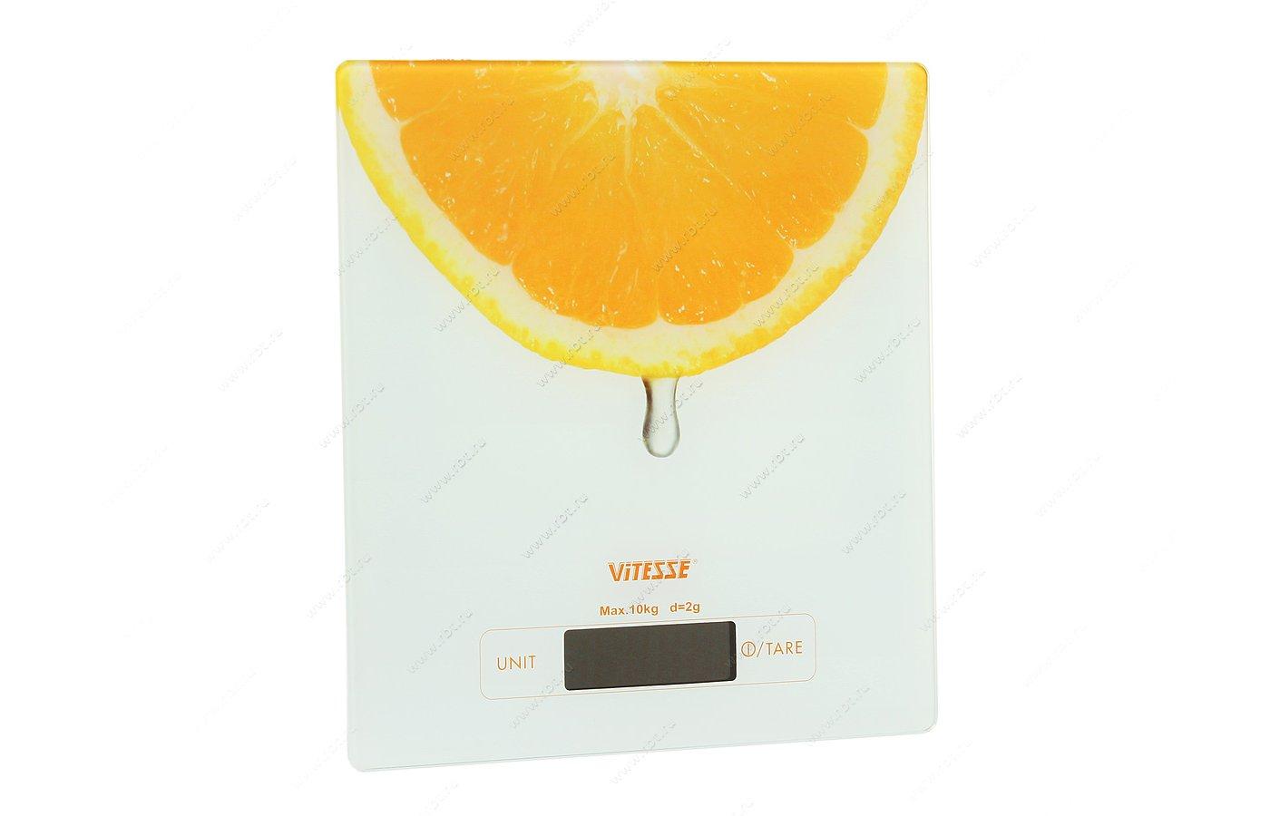 Весы кухонные VITESSE VS-616 WHT