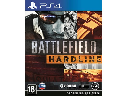 Battlefield Hardline PS4 русская версия