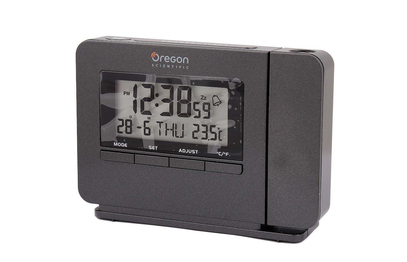 Настольные часы Oregon Scientific TW 223b Часы будильник с термометром и проектором