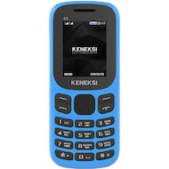 Фото Мобильный телефон KENEKSI E3 Blue