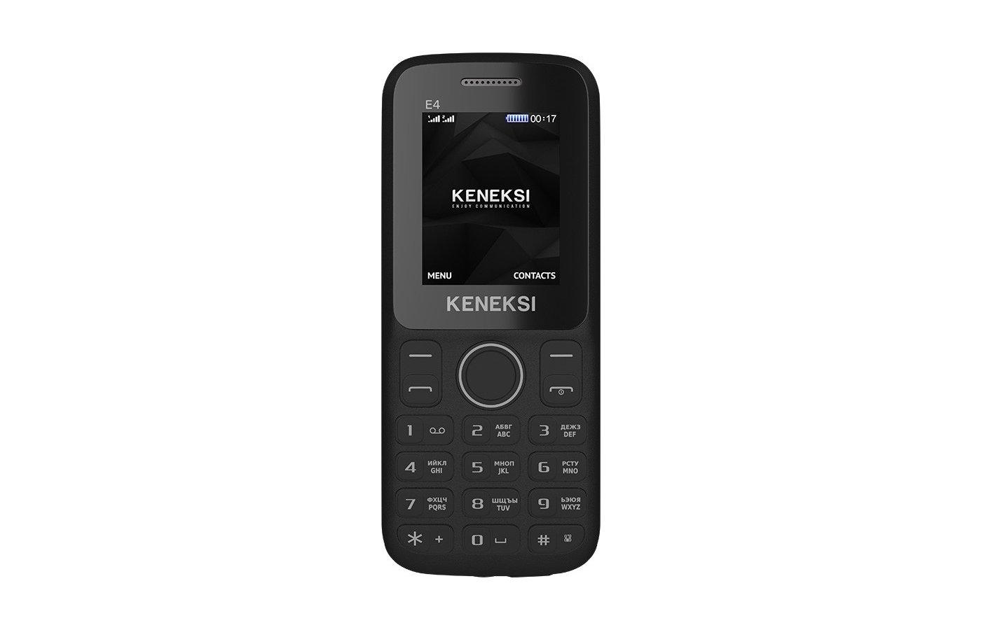 Мобильный телефон KENEKSI E4 Black