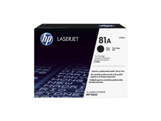Картридж лазерный HP 81A CF281A черный для LaserJet Pro MFP M630dn/f/h/z (10500стр.)