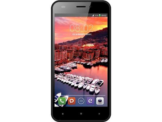 Смартфон BQ BQS-5011 Monte Carlo LTE Black