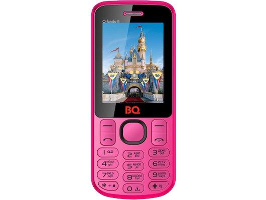 Мобильный телефон BQ BQM-2403 Orlando II Pink