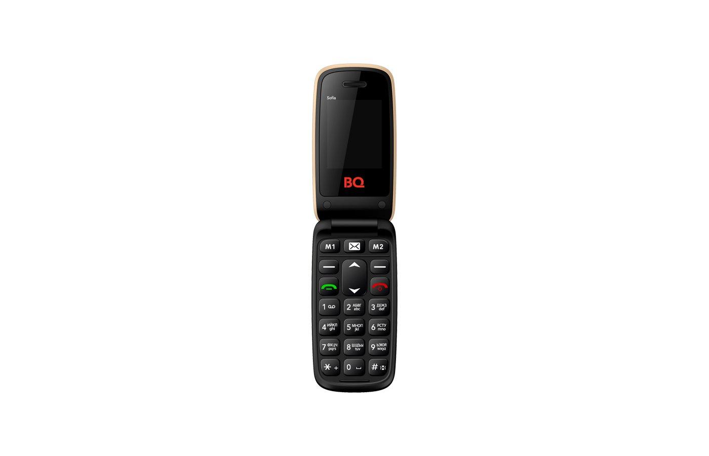 Мобильный телефон BQ BQM-2001 Sofia Gold