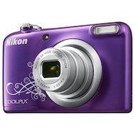 Фото Фотоаппарат компактный Nikon Coolpix A10 purple lineart