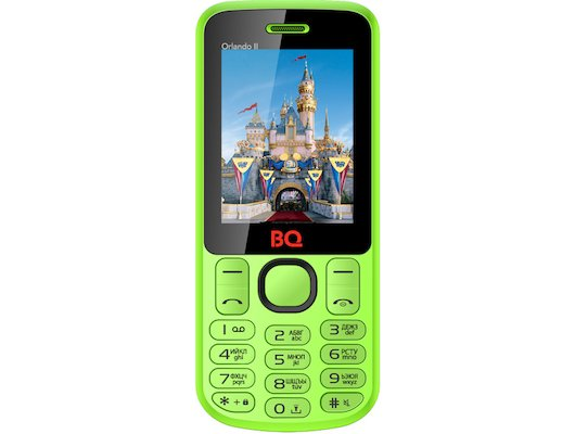Мобильный телефон BQ BQM-2403 Orlando II Green