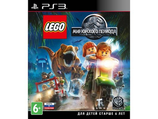 LEGO Мир Юрского Периода PS3 русские субтитры
