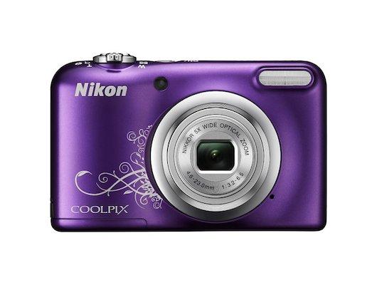Фотоаппарат компактный Nikon Coolpix A10 purple lineart