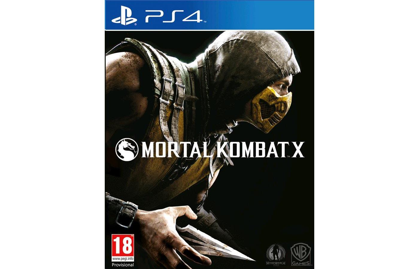 Mortal Kombat X PS4 русские субтитры