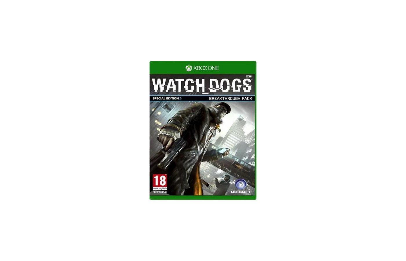 WatchDogs Xbox One английская версия