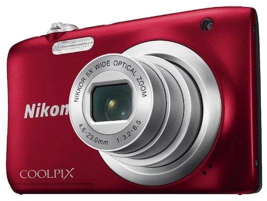 Фотоаппарат компактный Nikon Coolpix A100 red