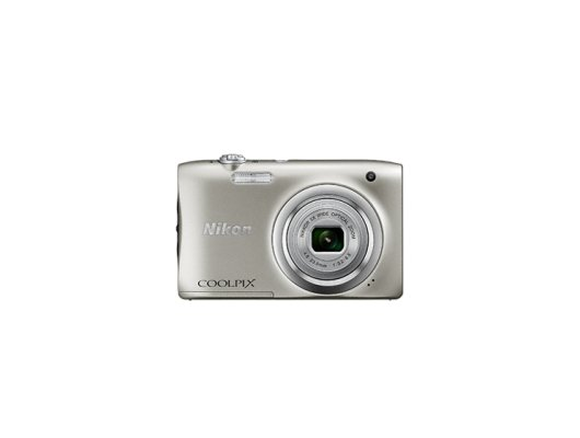 Фотоаппарат компактный Nikon Coolpix A100 silver