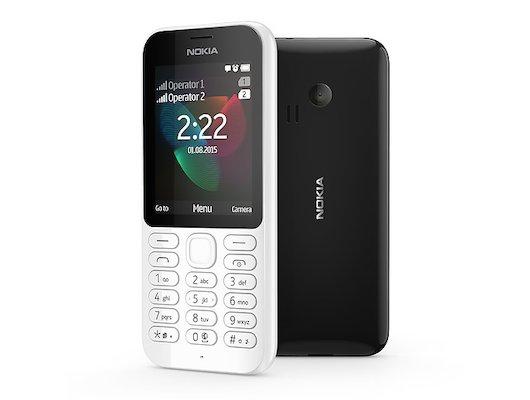 Мобильный телефон Nokia 222 DS White
