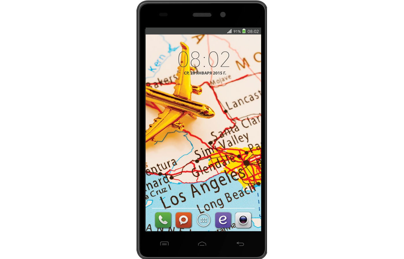 Смартфон BQ BQS-5006 Los Angeles Black