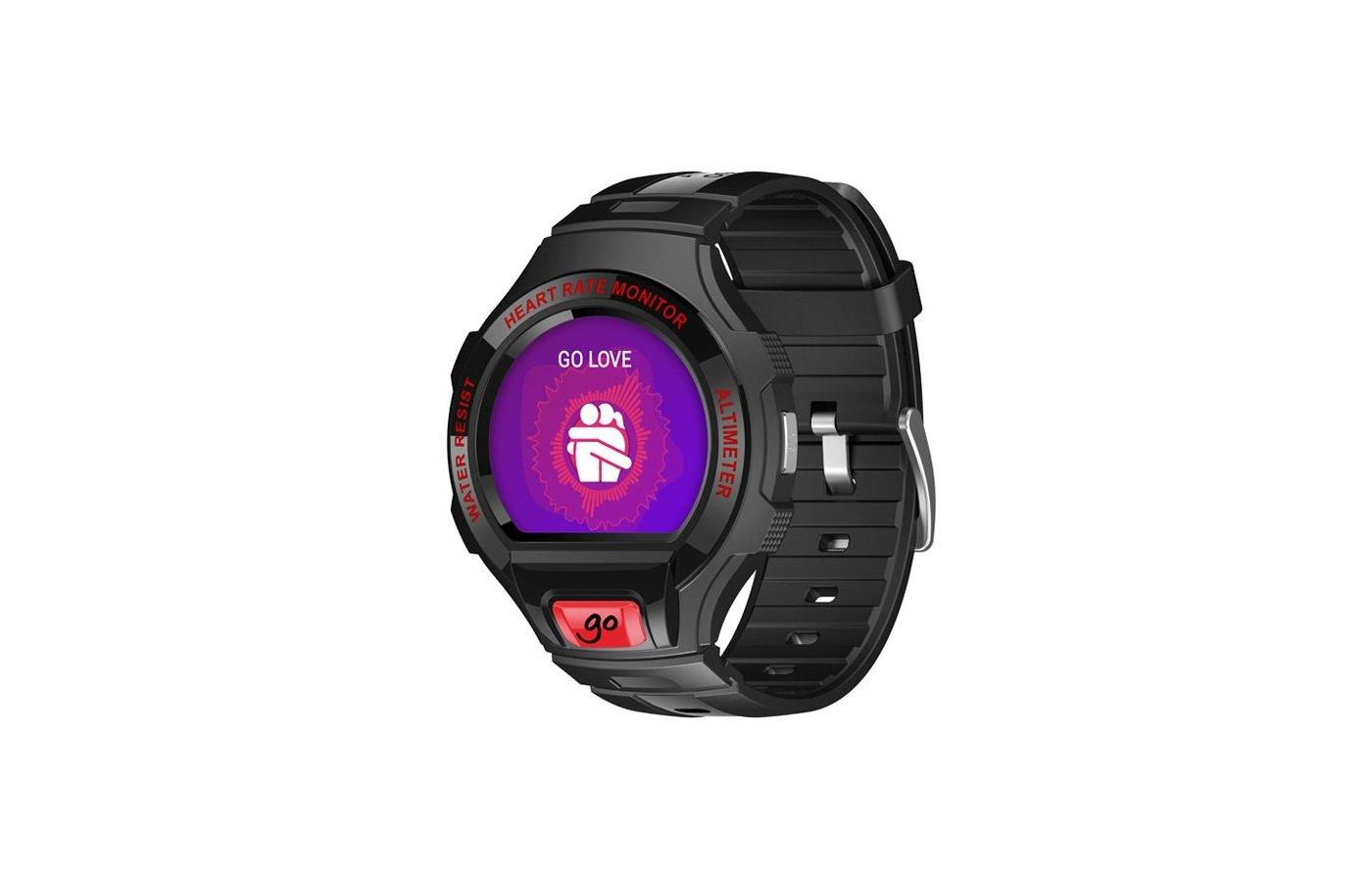 Смарт-часы Alcatel One Touch Watch SM03 (ALC-SM03-2BALRU7) black/red