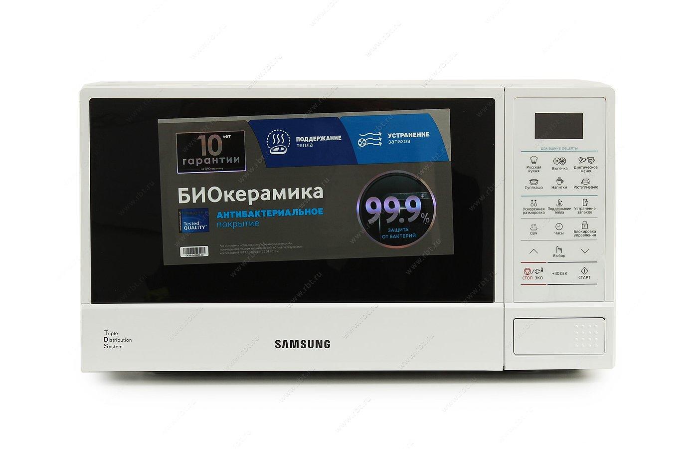 Микроволновая печь SAMSUNG ME-83DRQW-1/BW