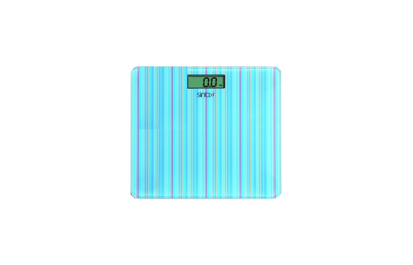 Весы напольные SINBO SBS-4427 голубой