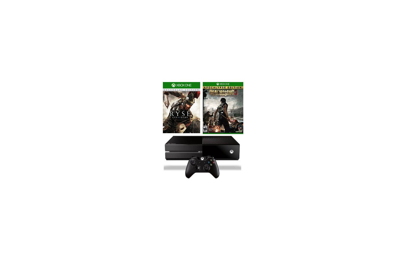 Xbox One 500Gb + Ryse Legendary + Dead Rising 3 ApocalypsE