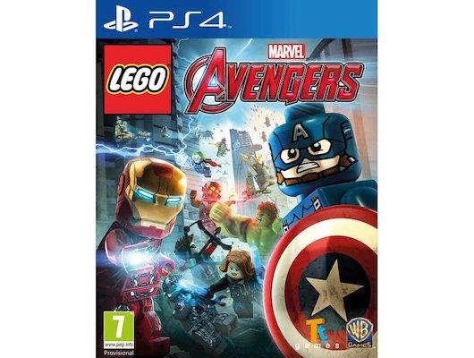 LEGO: Marvel Мстители PS4 русские субтитры
