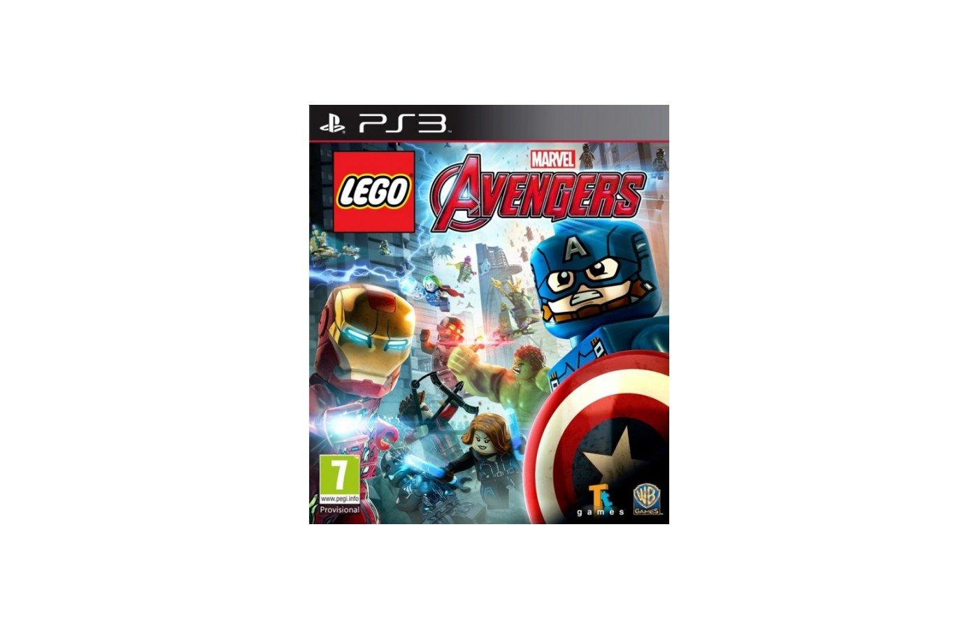 LEGO: Marvel Мстители PS3 русские субтитры