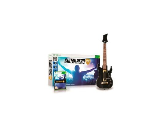 Guitar Hero Live Bundle .Гитара + игра. (Xbox 360)