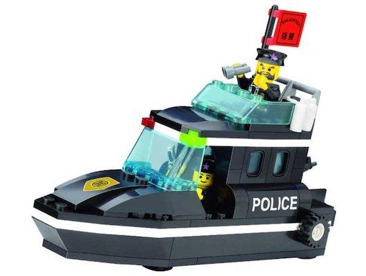 Конструктор ENLIGHTEN BRICK C130 ПОЛИЦИЯ Полицейский катер 95 дет.