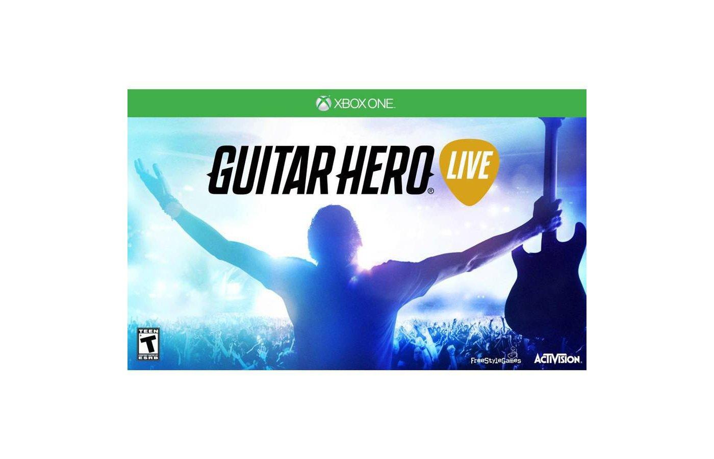 Guitar Hero Live Bundle .Гитара + игра. (Xbox One)