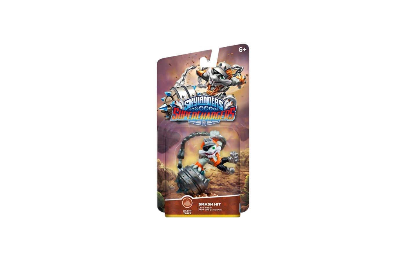 Аксессуар. Фигурка Skylanders SuperChargers суперзаряд - SMASH HIT (стихия Earth).