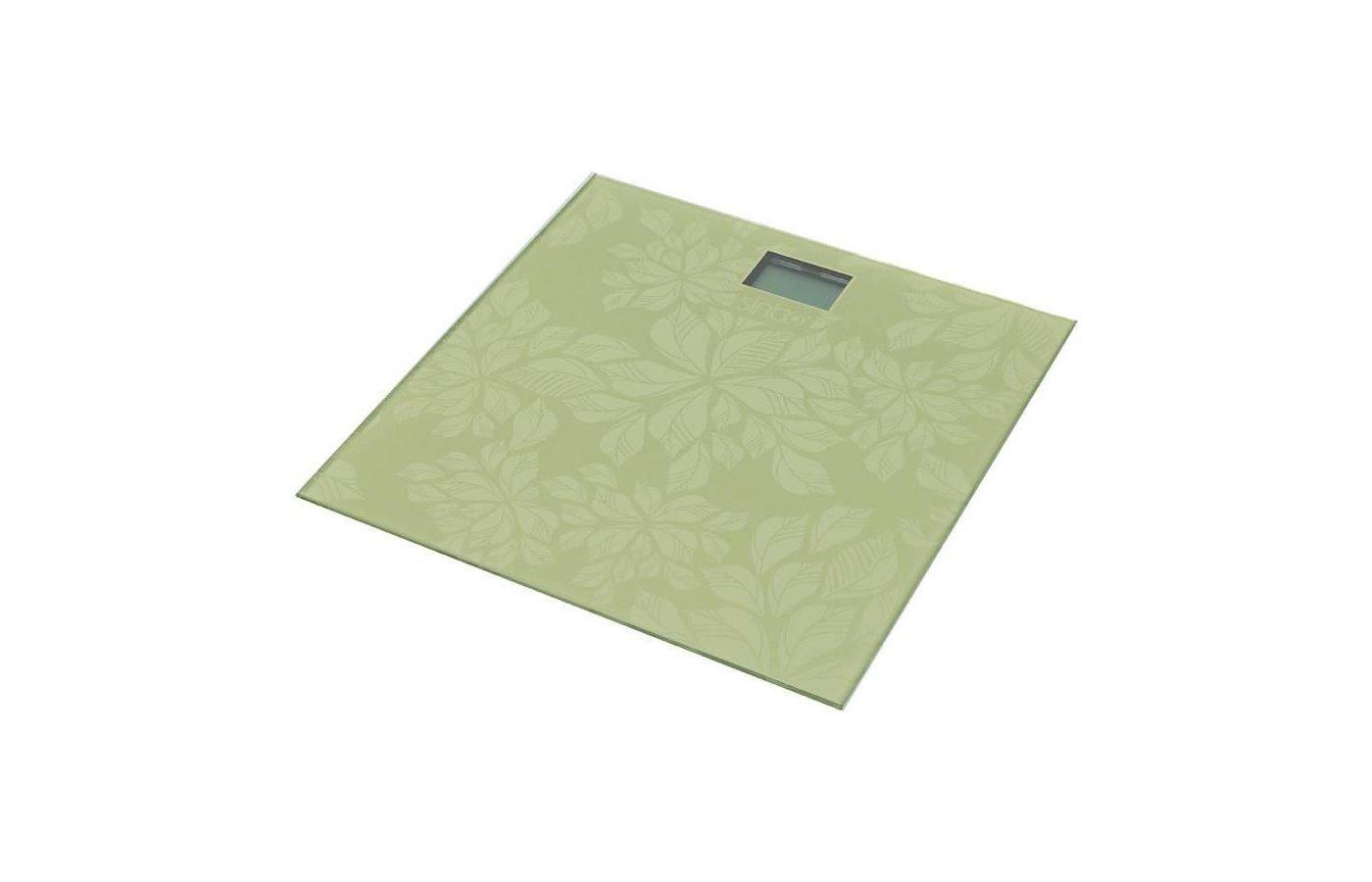 Весы напольные SINBO SBS-4430 зеленый