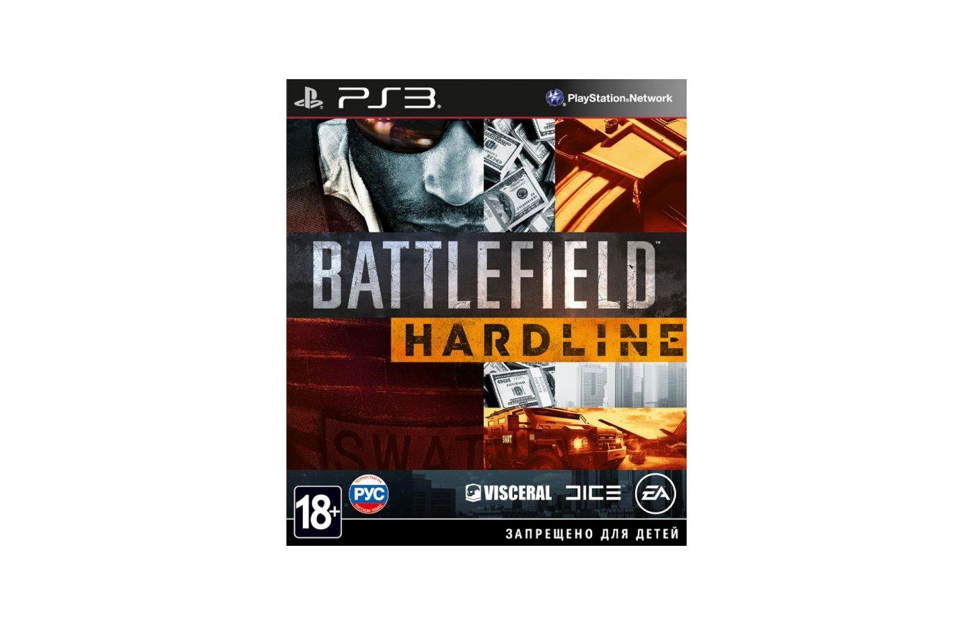 Battlefield Hardline PS3 русская версия
