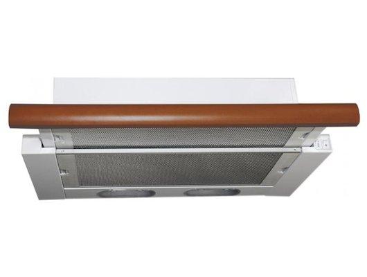 Вытяжка ELIKOR Интегра 60П-400-В2Л бел/бук орех