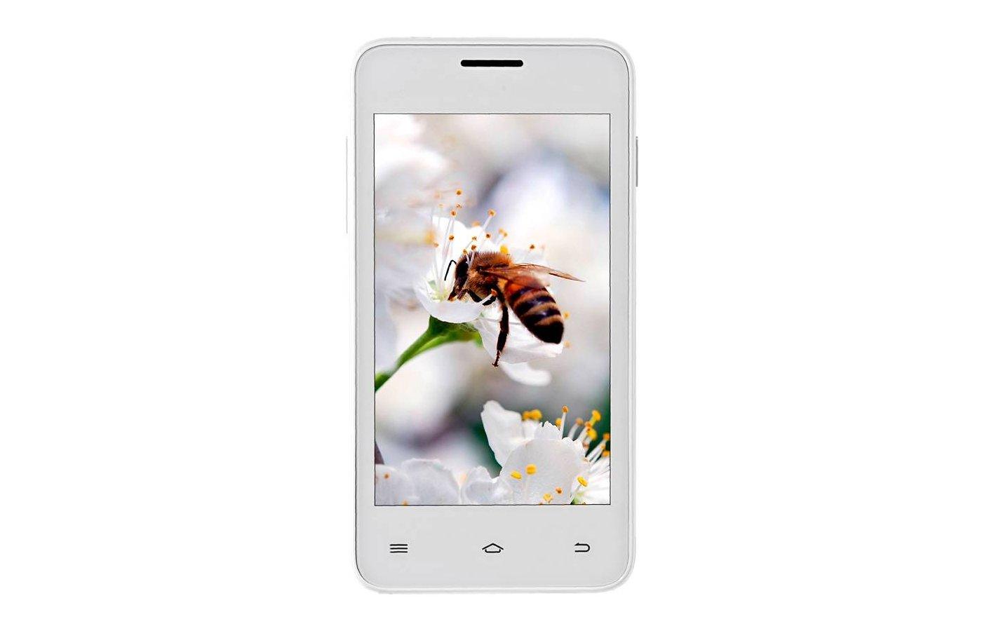 Смартфон Fly FS403 Cumulus1 White DS