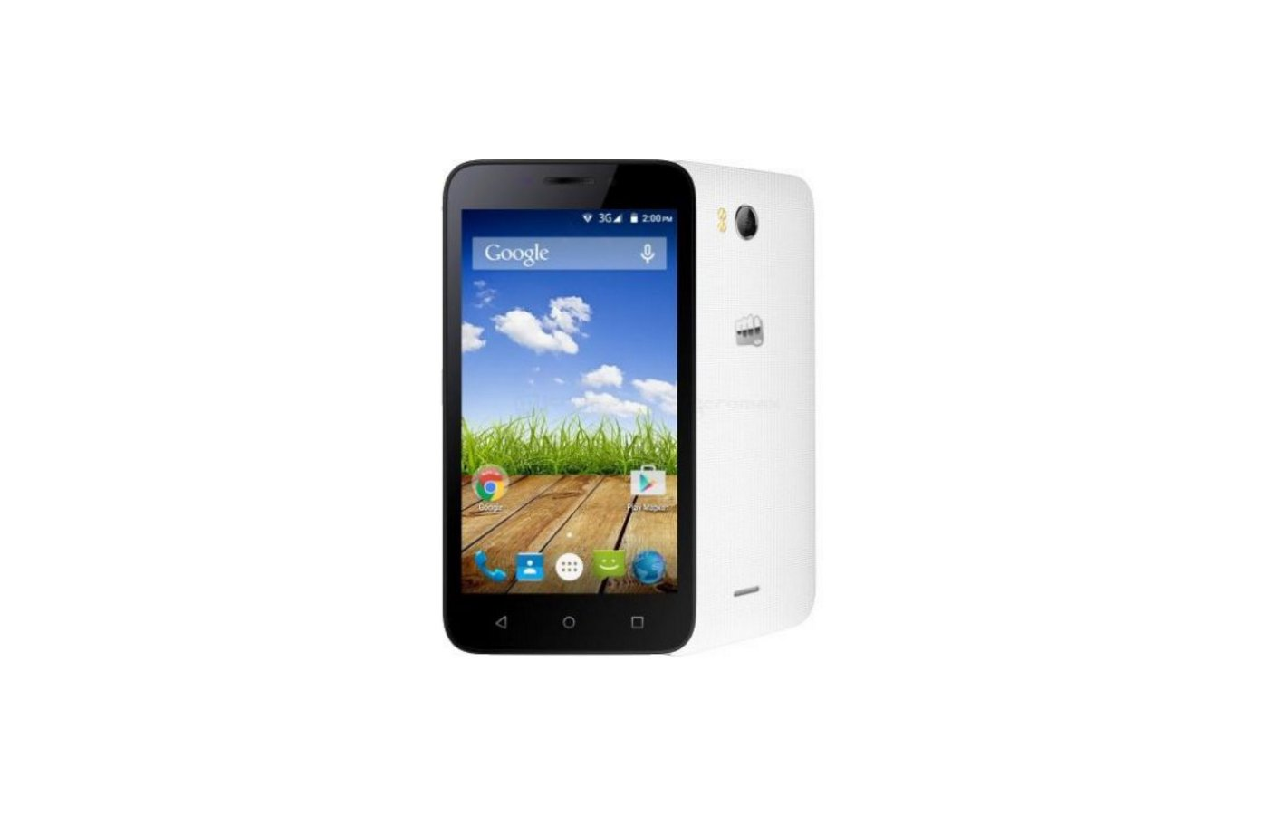 Смартфон Micromax Q379 BOLT White