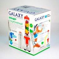 Фото Блендер Galaxy GL-2153 белый/красный