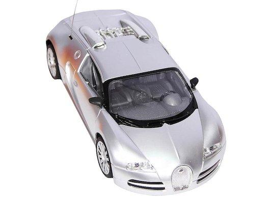 Игрушка MioshiTech Автомобиль 24см на аккум. 2011-1 серебристый