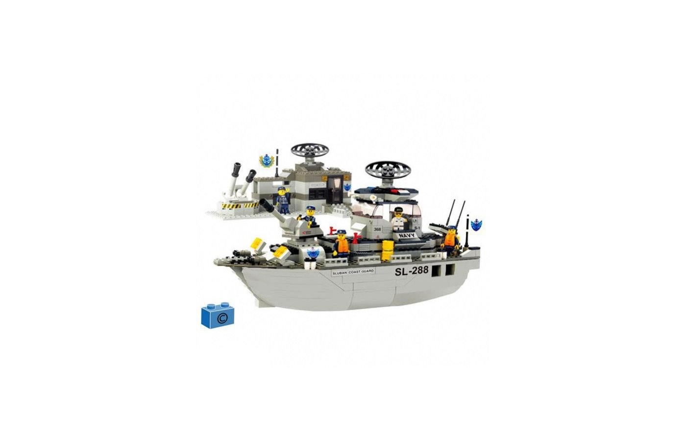Конструктор SLUBAN 38-0122 Корабль