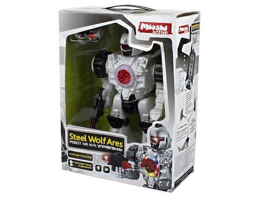 Робот Mioshi Tech MTE1204-113 Робот с и/к управлением Steel Wolf Ares