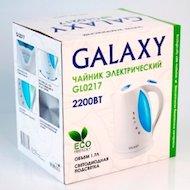 Фото Чайник электрический  Galaxy GL-0217 белый