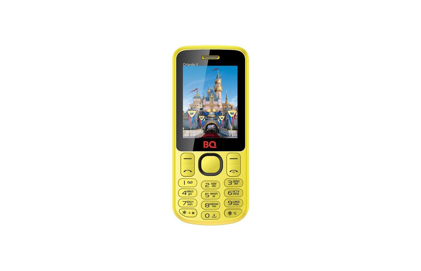 Мобильный телефон BQ BQM-2403 Orlando II Yellow