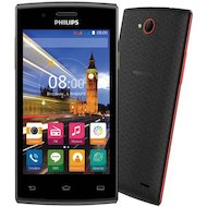 Фото Смартфон PHILIPS S337 Black Red