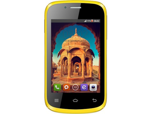 Смартфон BQ BQS-3503 Bombay Yellow