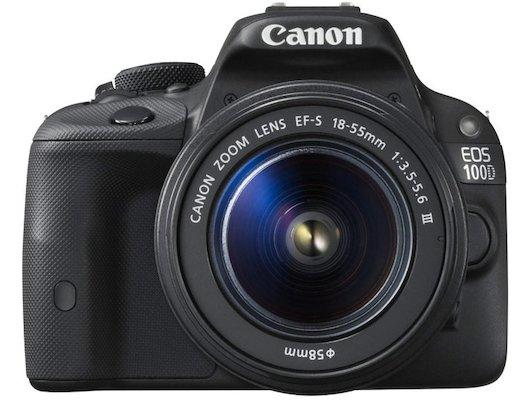 Фотоаппарат зеркальный CANON EOS 100D kit 18-55 DC III