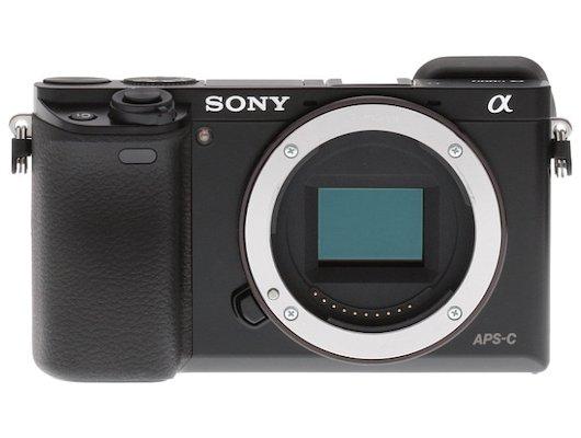 Фотоаппарат со сменной оптикой SONY ILCE A6000 body black
