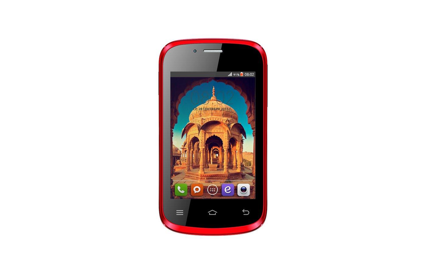 Смартфон BQ BQS-3503 Bombay Red