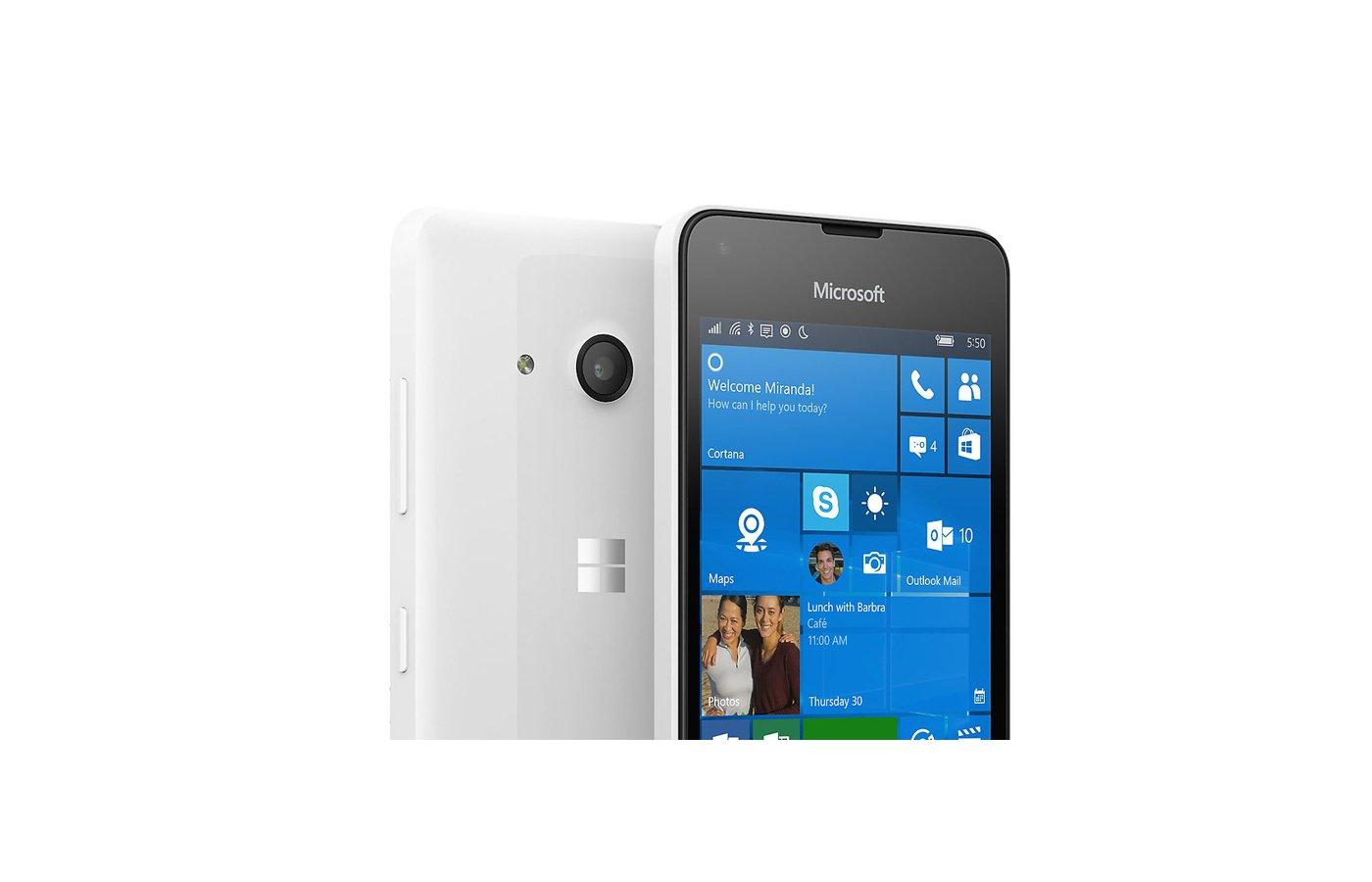 Смартфон Microsoft Lumia 550 White