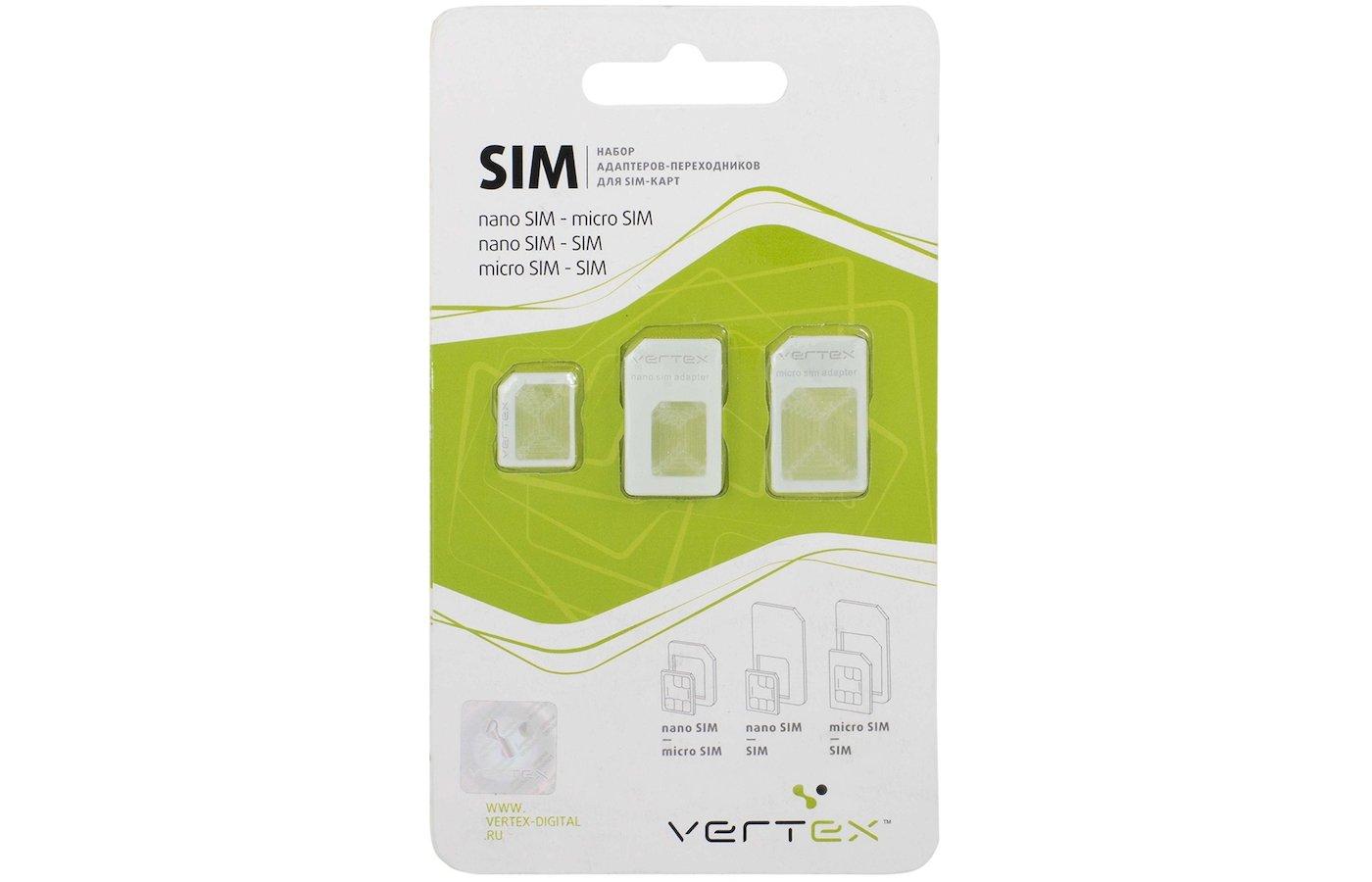 Кабель VERTEX адаптеры для сим-карт 3в1
