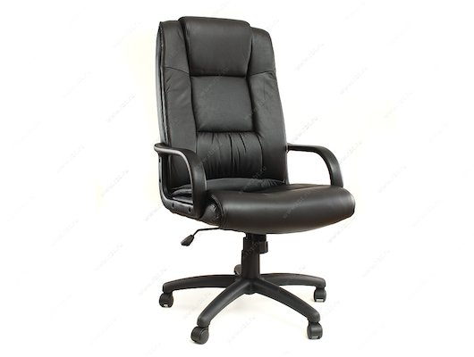 EXCOMP QA-F6615 Кресло/Экокожа/черный