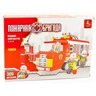 Конструктор AUSINI 21601 Пожарная бригада 309 деталей